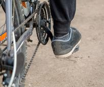 Bicycle Pedal and Chain