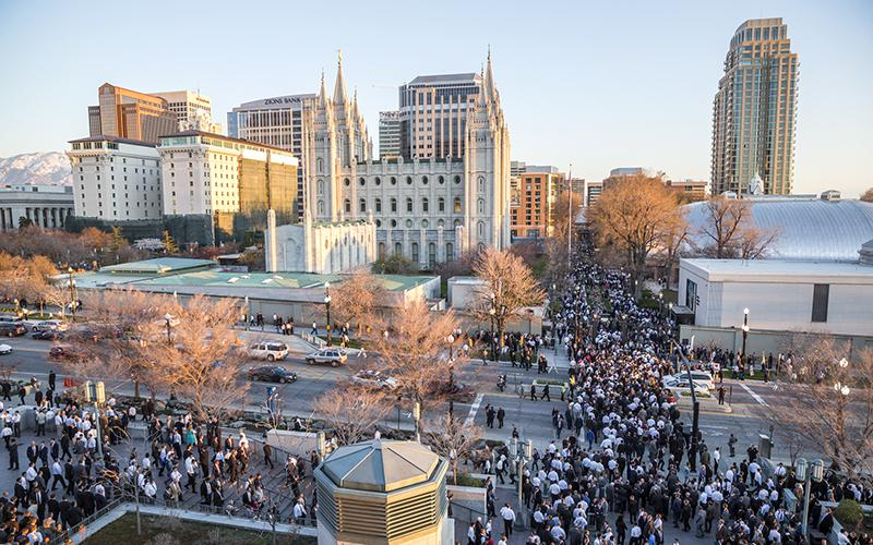 General Conference in Salt Lake City