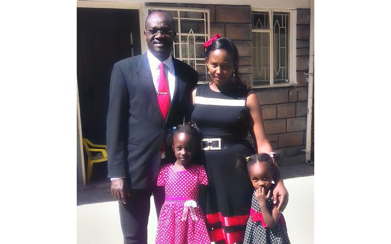 Joshua Kioyo and Family