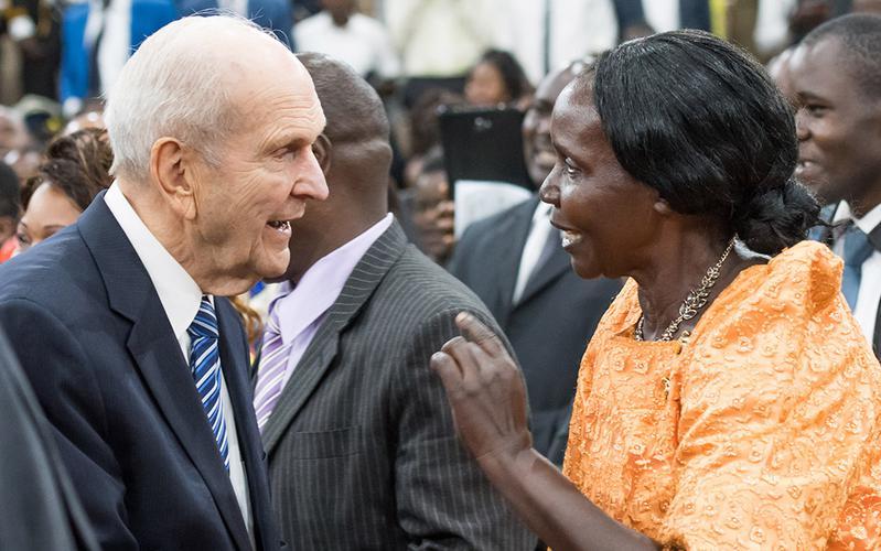 The Prophet Speaks in Africa