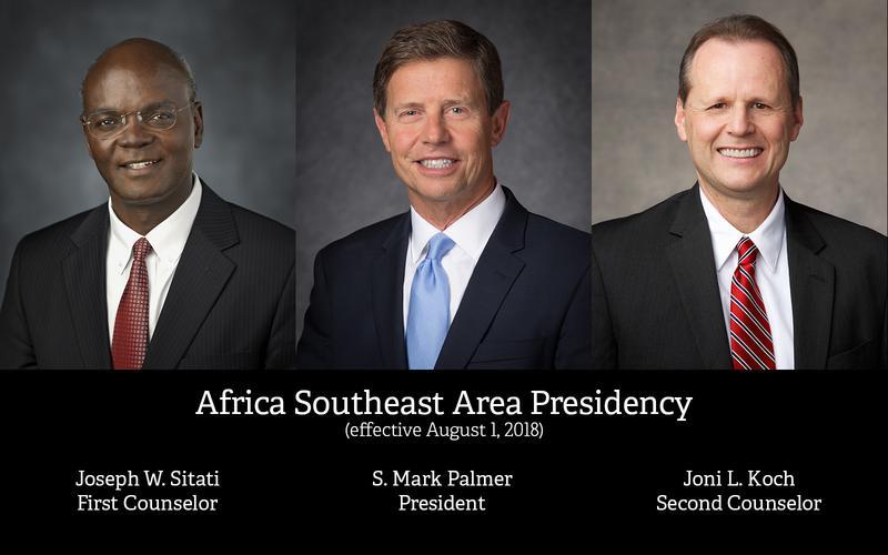 New Area Presidency Announced