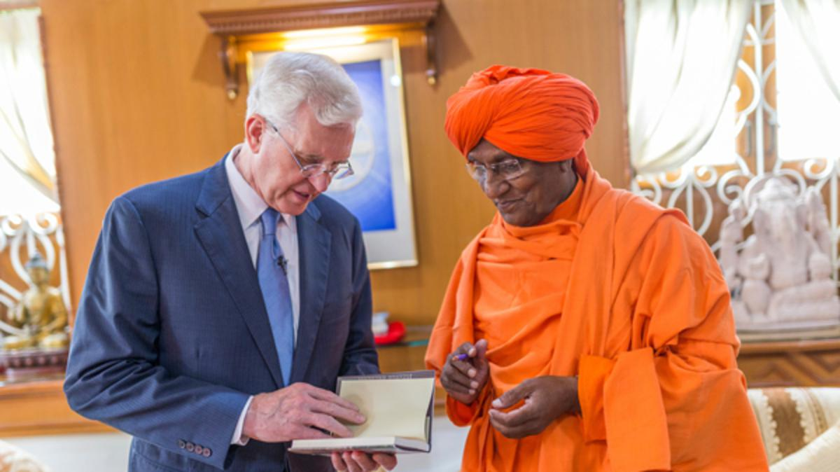 Elder Christofferson Peace Prize ceremony