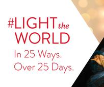 Light the World 2017 banner