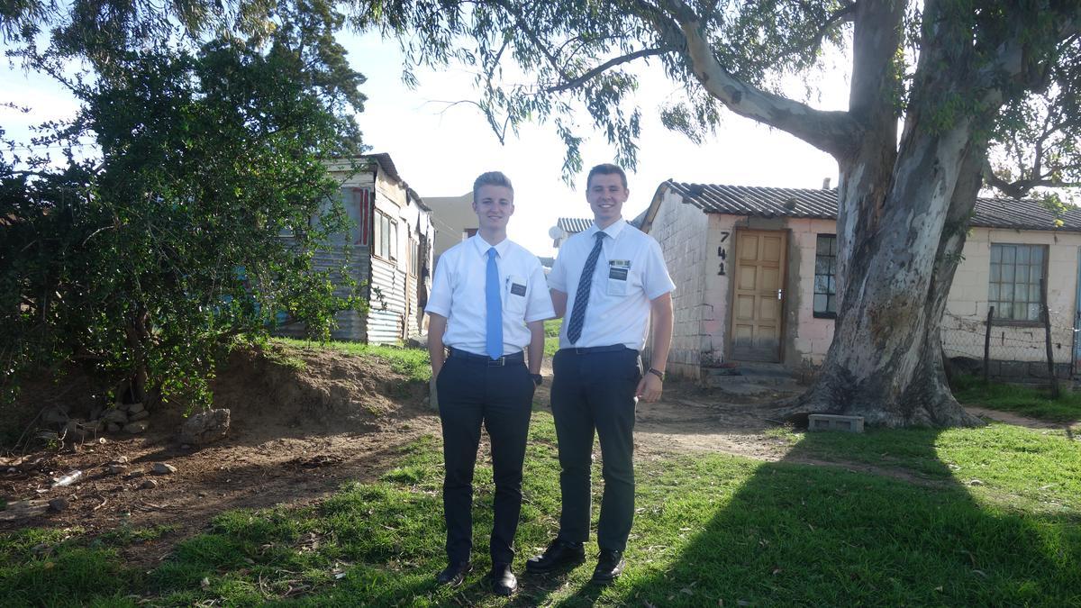 Elder Heald and Elder Greengrass