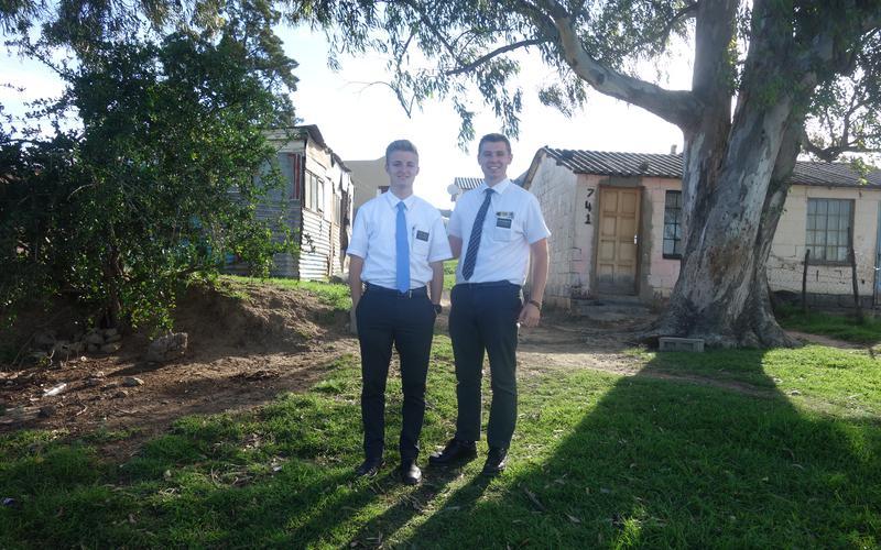 Elder Heald and Elder Greengrass LDS Most Wanted January
