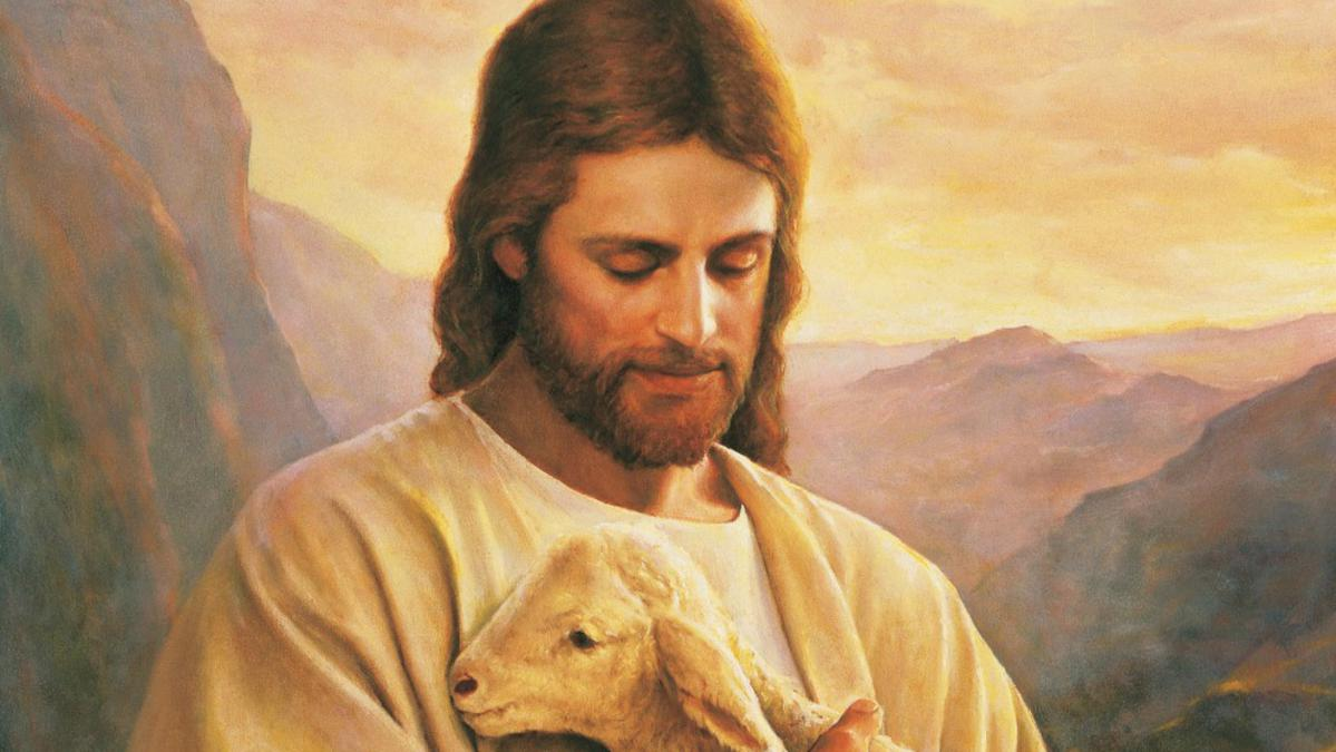 Christ carrying Lamb