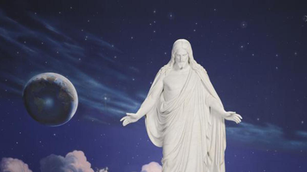 image of Christus statue