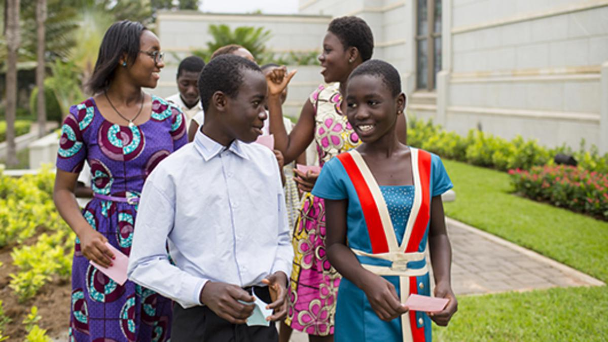 image of African youth