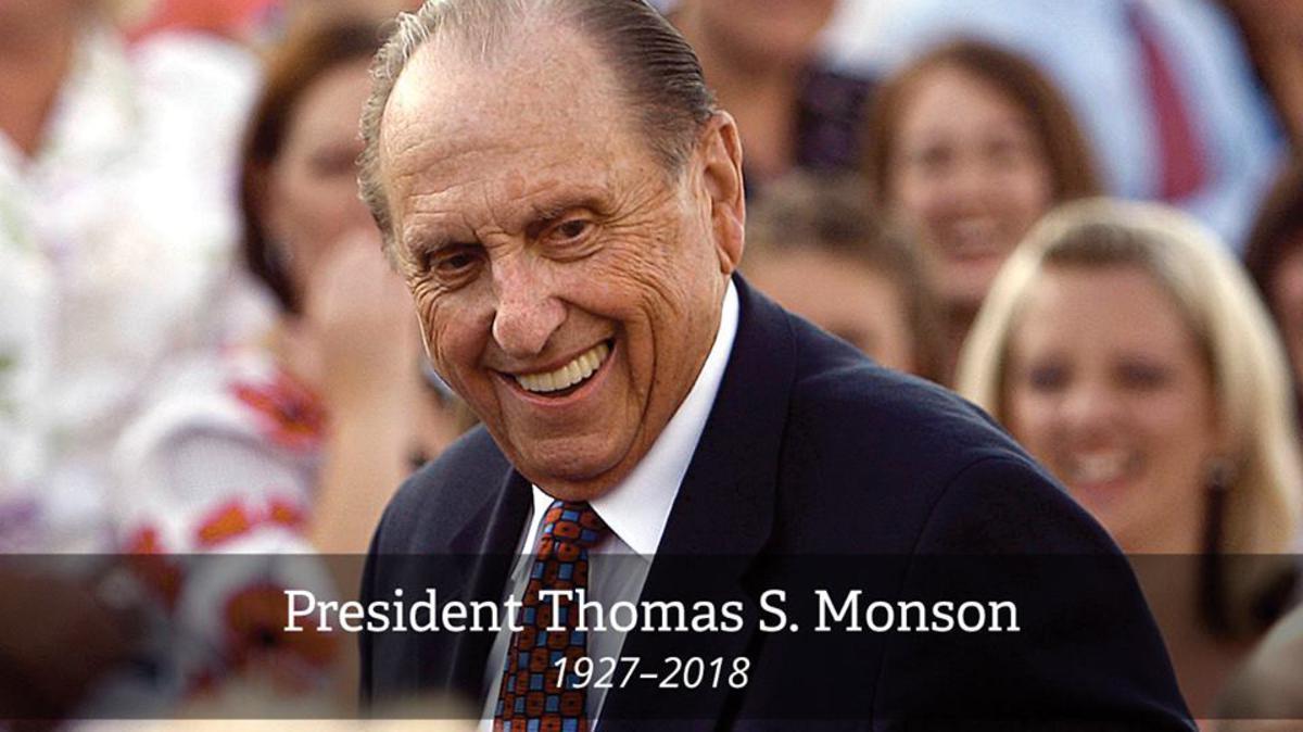 President Monson passes away at age 90