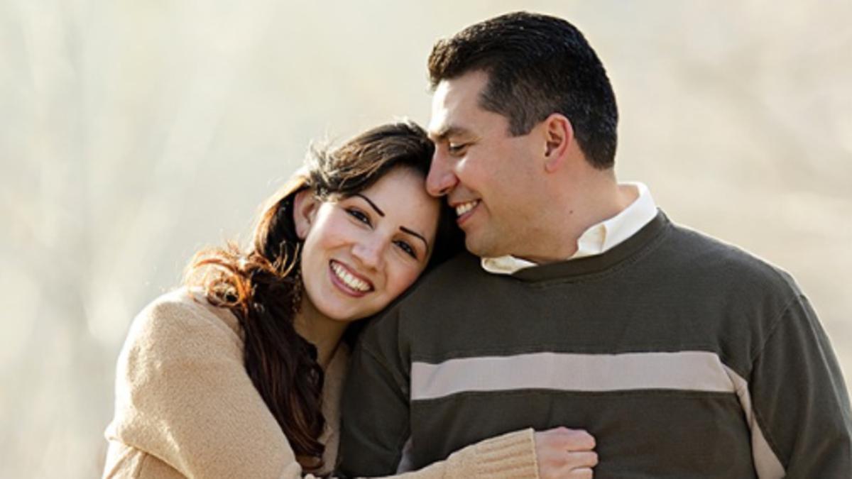 image of happy parents