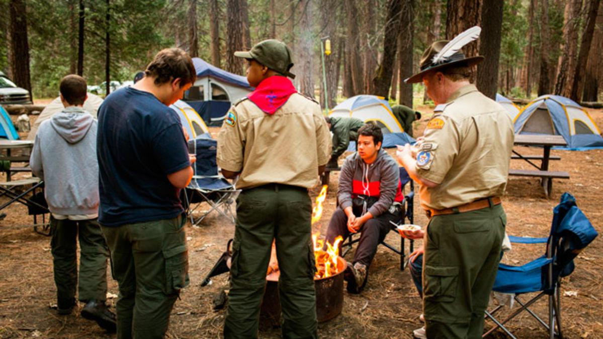 image of scout camp