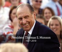 President Thomas S. Monson passes away