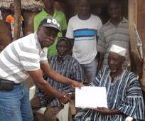 image of man receiving certificate