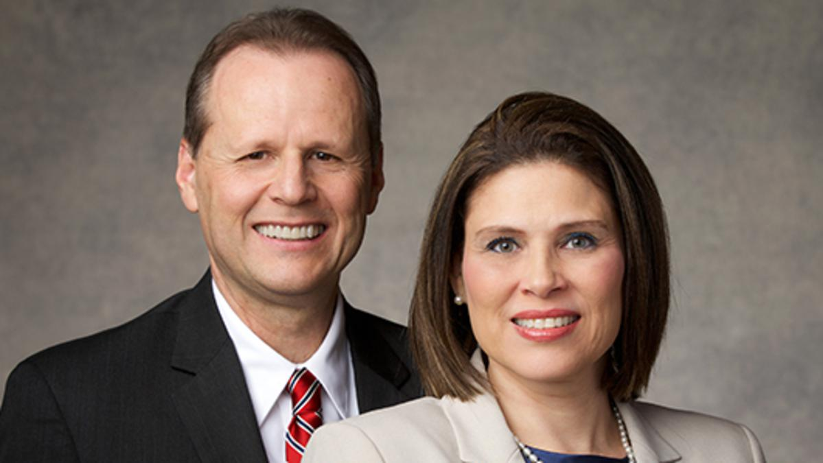 image of Elder Koch & his wife