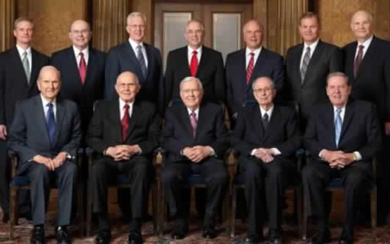image of 2017 Quorum of Twelve Apostles