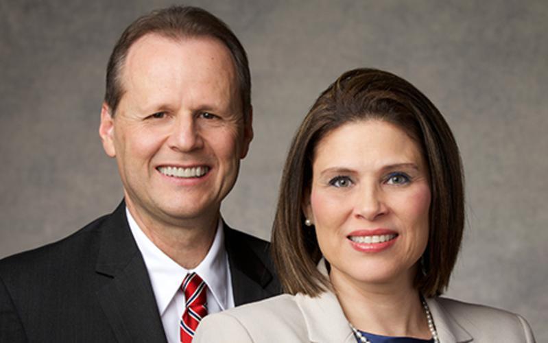 image of Elder Koch & wife