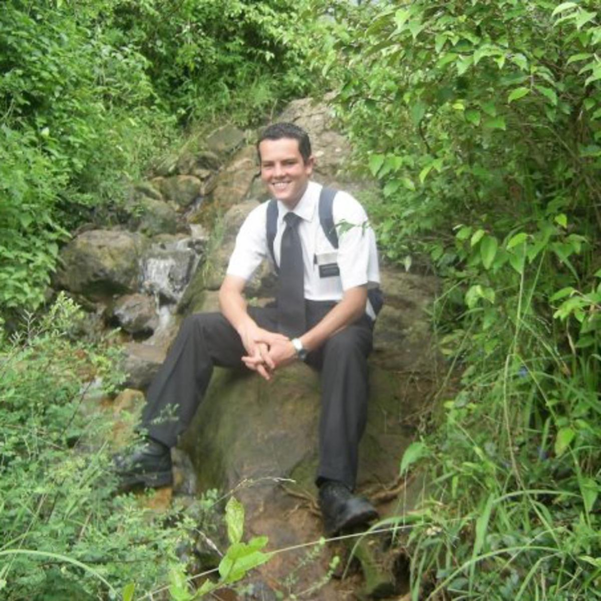 image of missionary in Kenya