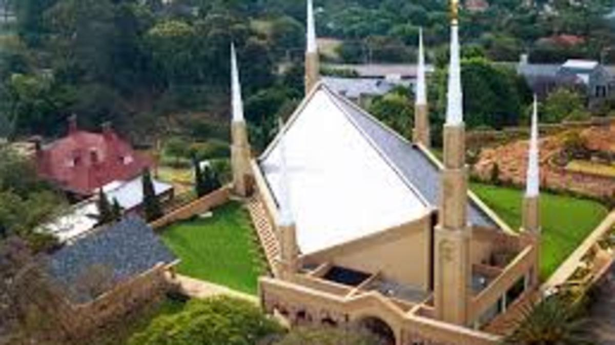 image of Johannesburg temple