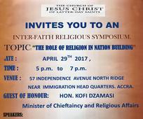 Inter-Faith Religious Symposium