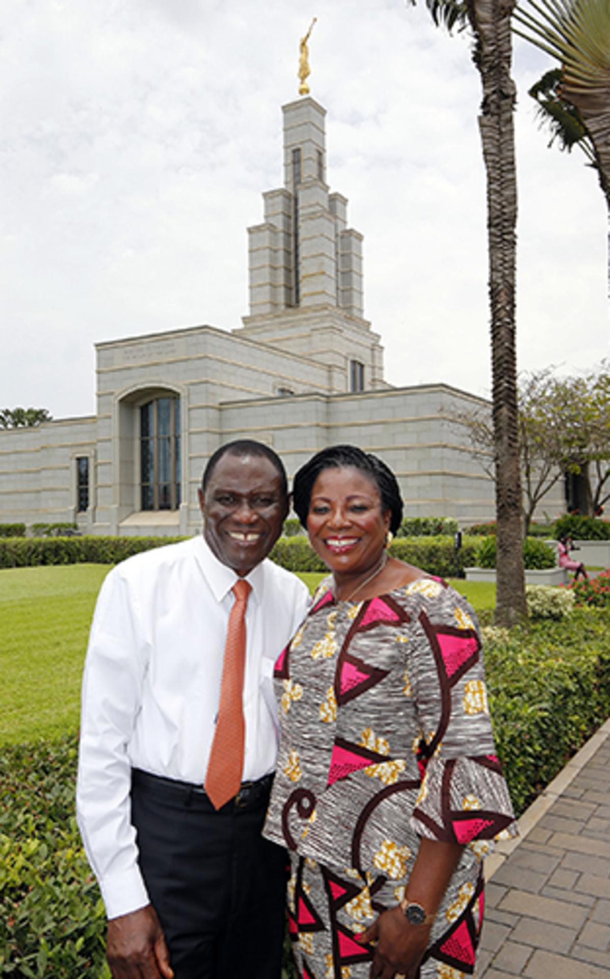 Elder and Sister Ahadjie
