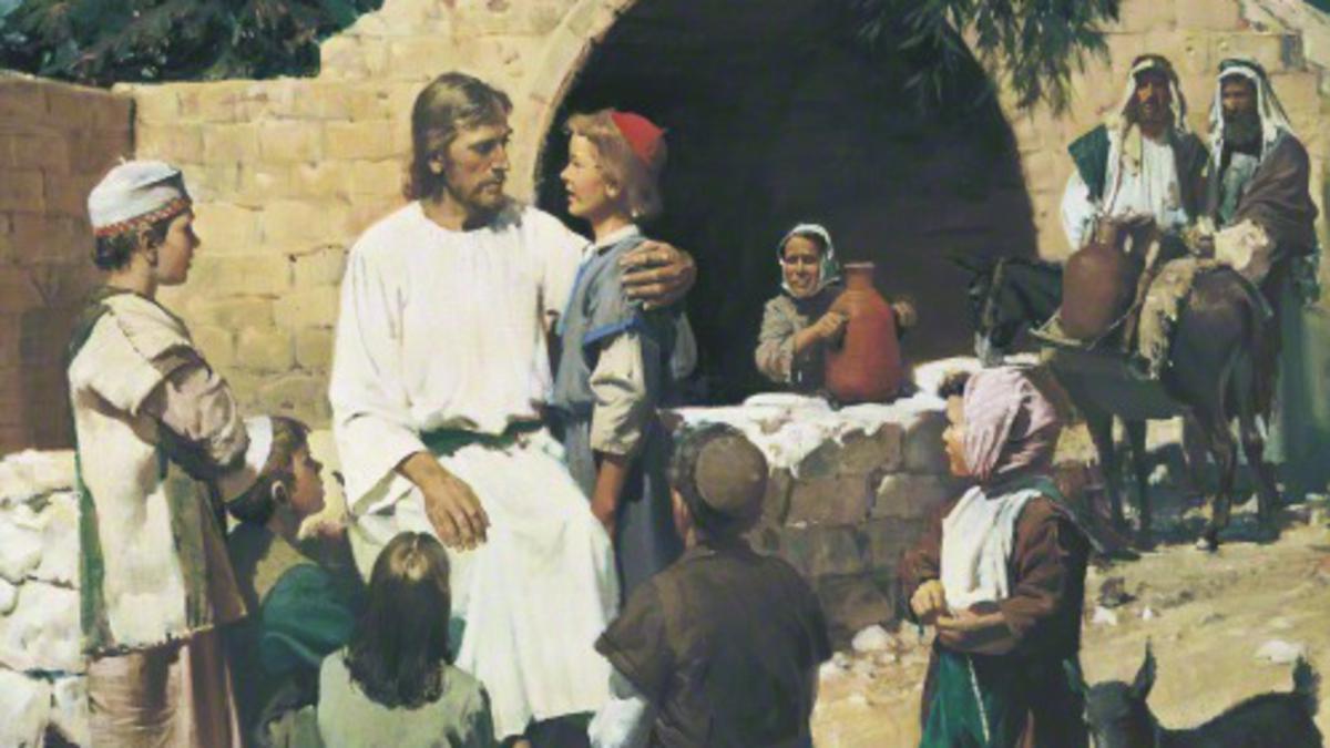 Le christet les enfants