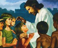 Le Christ et les enfants