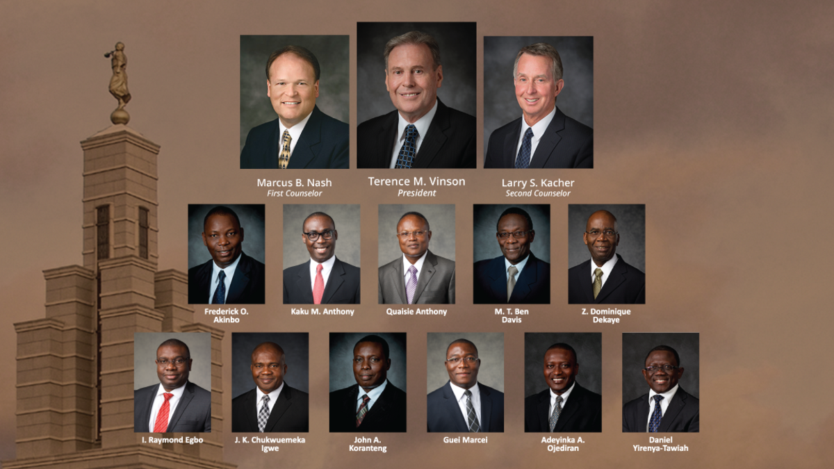 Africa West Area Leaders