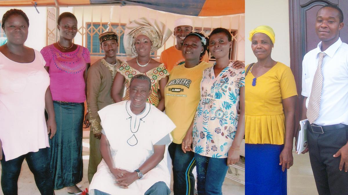 La famille Amankwah