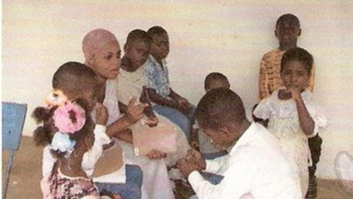 Classe de la primaire de la branche de Nkwakaw