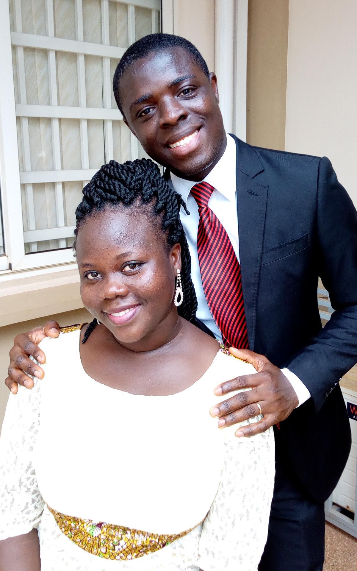 Afua Serwaa et David Fosu Asiedu
