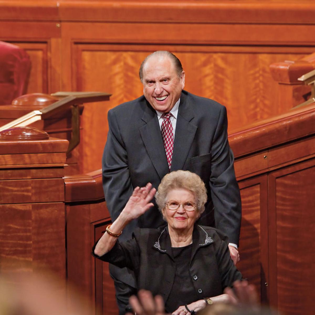 president-monson-and-sister-monson