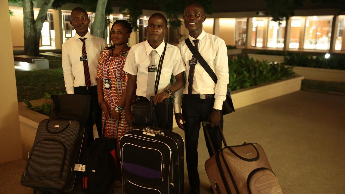 Missionnaires de la Guinée