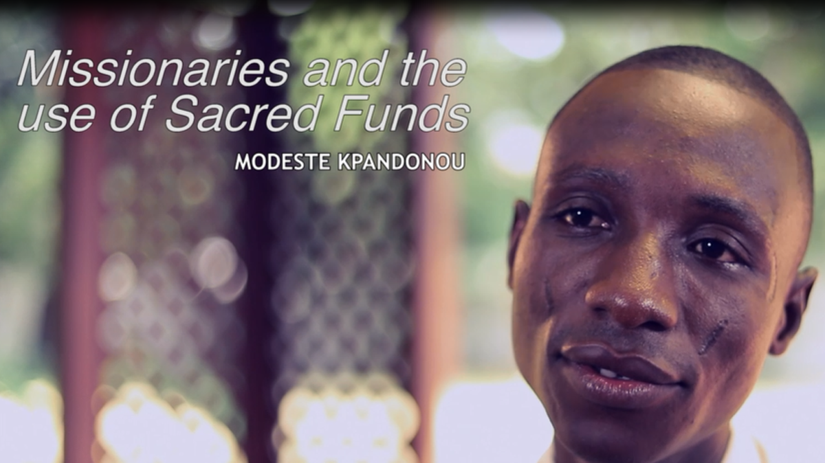 Missionaries and the use of Sacred Funds