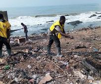 Latter-day Saints Clean-Up Cape Coast Communities