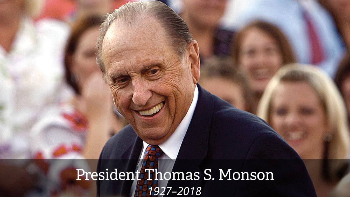 President Thomas S. Monson.