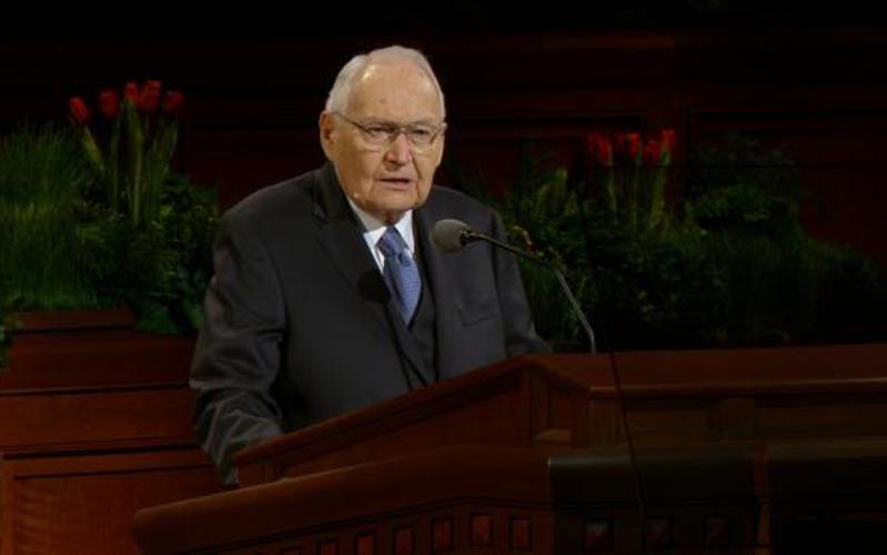 Elder L. Tom Perry Of the Quorum of the Twelve Apostles
