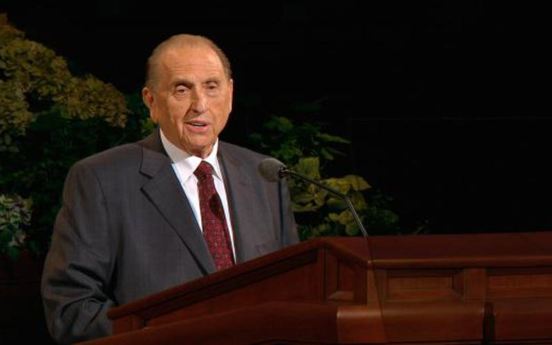 Thomas S. Monson  First Counselor in the First Presidency