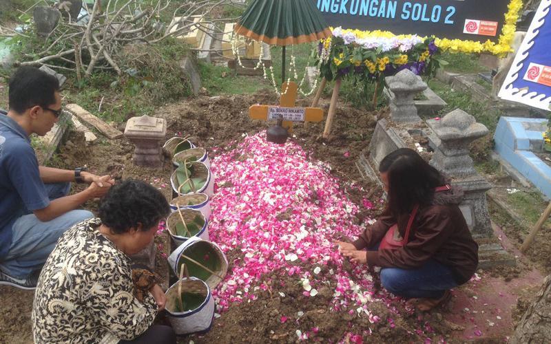 Pemakaman Bro. Sukro Wikamto