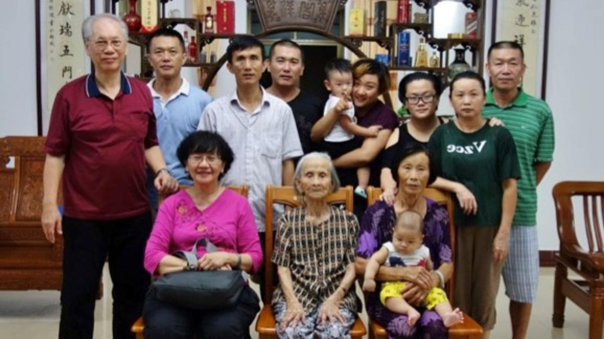 Five gen of the Foo family in Hainan
