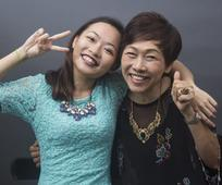 Jess Lee and daughter