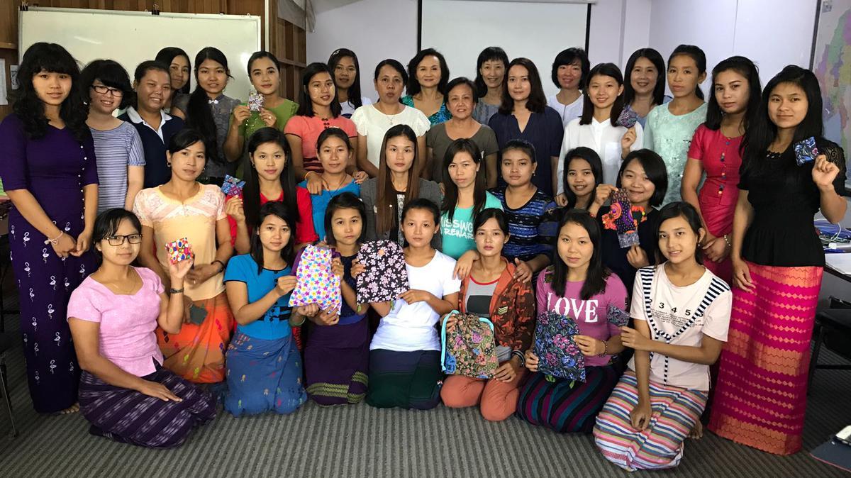 Days for Girls Workshop participants