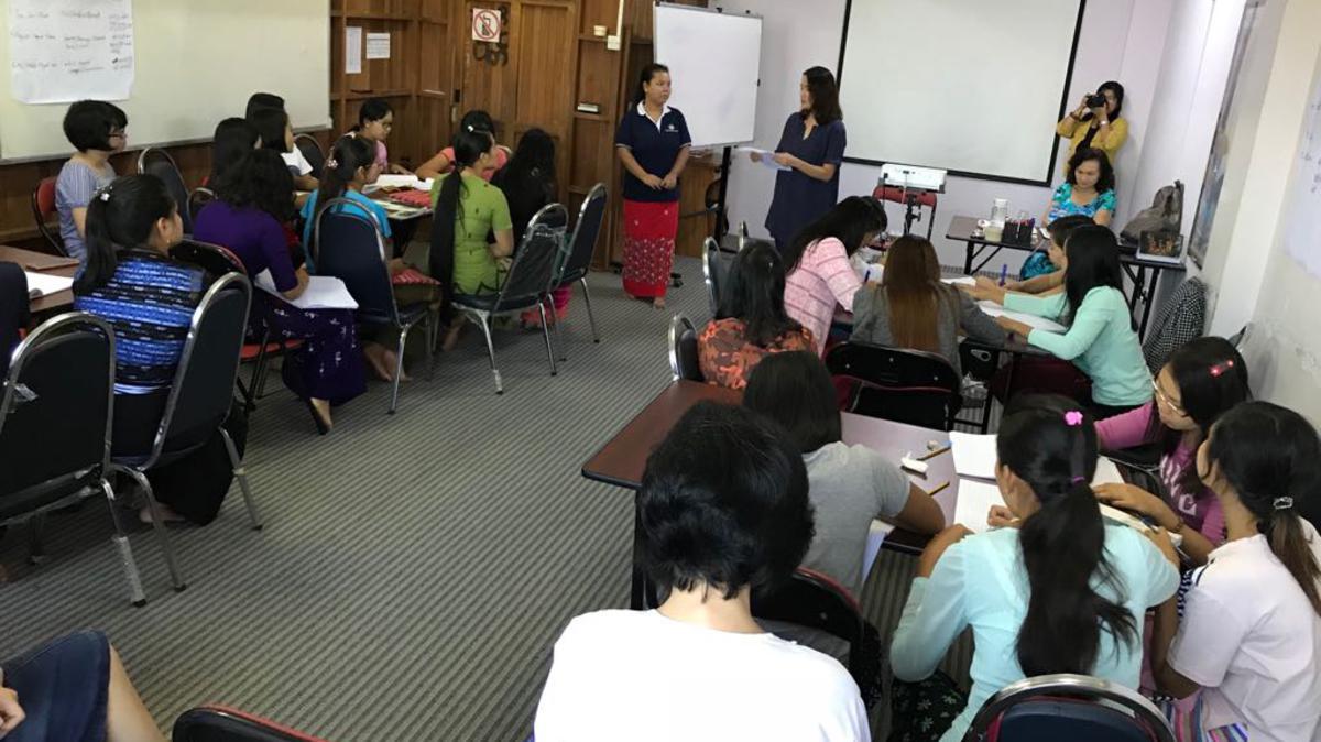 Days for Girls workshop