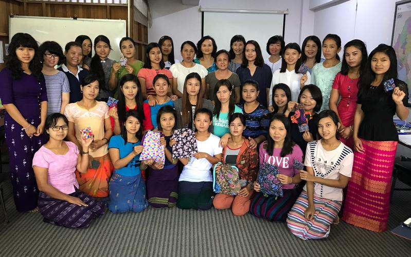 Days for Girls Workshop participants