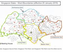 Singapore Stake re-organization