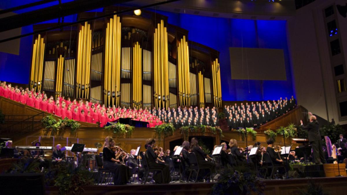Konzert zum Pioniergedenktag 2017 mit dem Mormon Tabernacle Choir und Alex Boyé