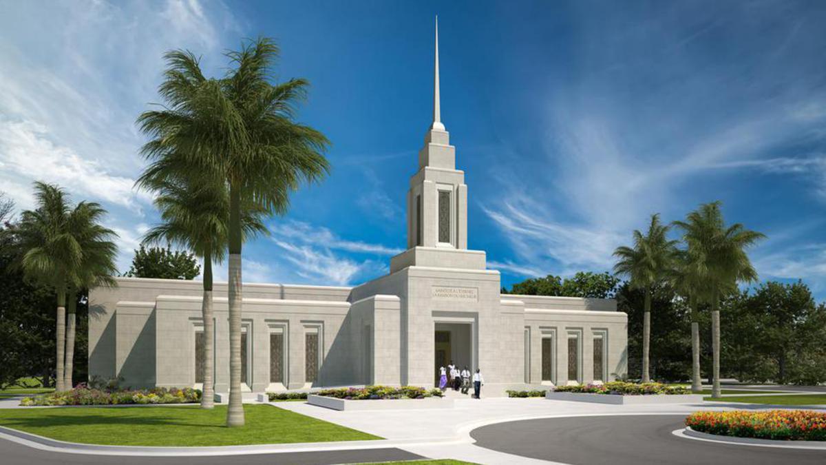 The First Presidency has announced the Port-au-Prince Haiti Temple