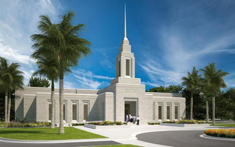 Anuncian palada inicial del Templo Puerto Príncipe, Haití