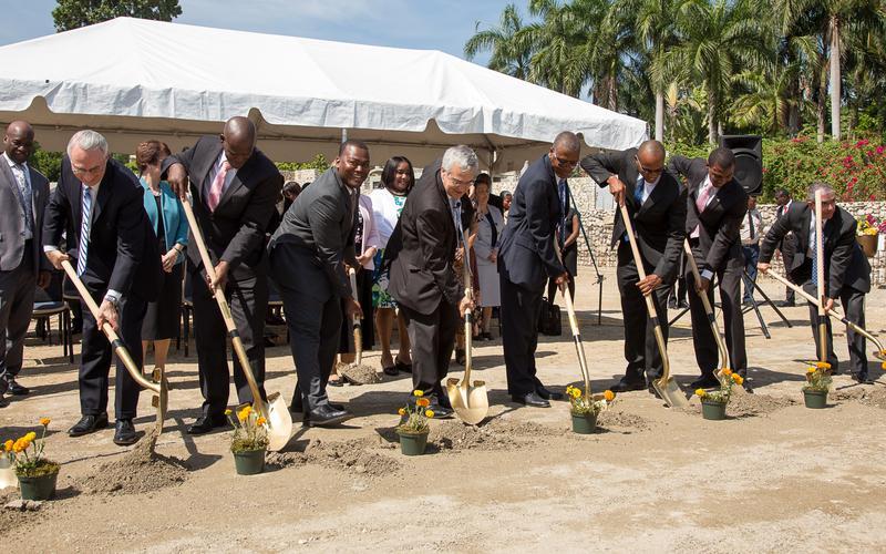 Church Leaders Break Ground for Mormon Temple in Haiti