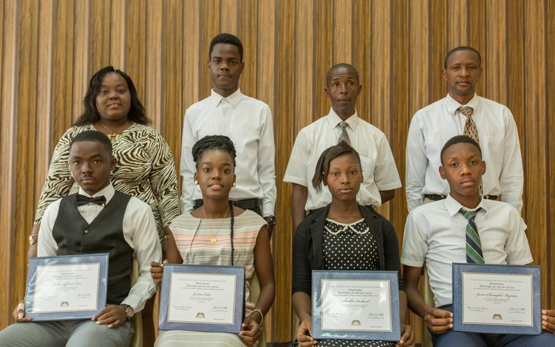 Haïti Port-au-Prince North Stake 2018 Seminary Graduation