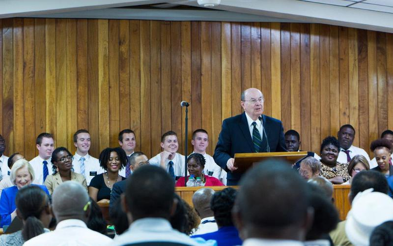 Jamaican Saints Welcome Elder Quentin L Cook